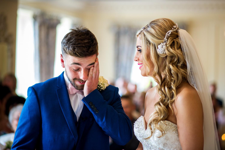 Eaves Hall Wedding Photography -116