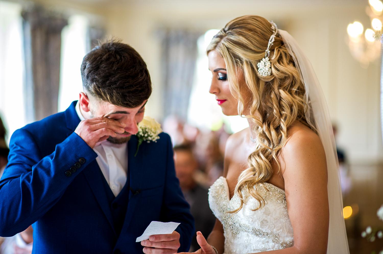 Eaves Hall Wedding Photography -117