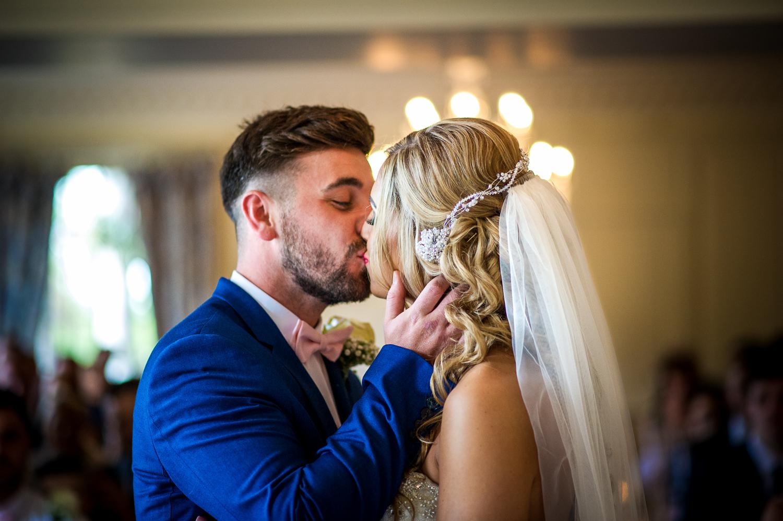 Eaves Hall Wedding Photography -119