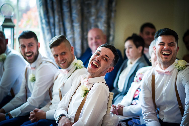Eaves Hall Wedding Photography -120