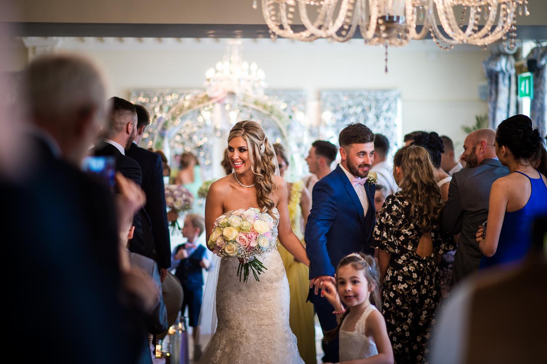 Eaves Hall Wedding Photography -121