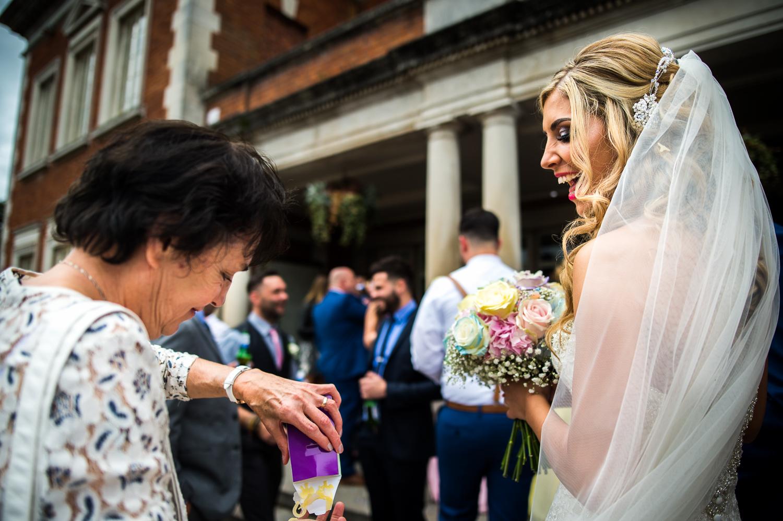 Eaves Hall Wedding Photography -123