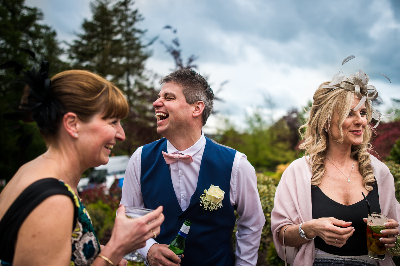 Eaves Hall Wedding Photography -124