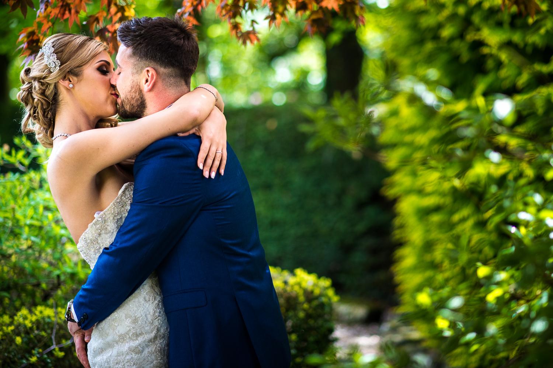 Eaves Hall Wedding Photography -132