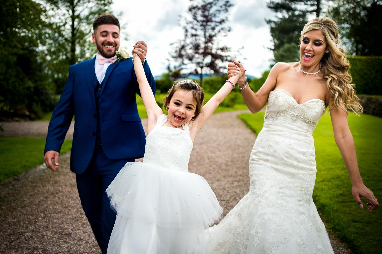 Eaves Hall Wedding Photography -134