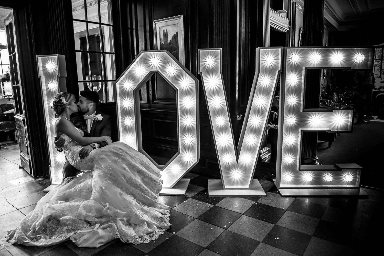 Eaves Hall Wedding Photography -137