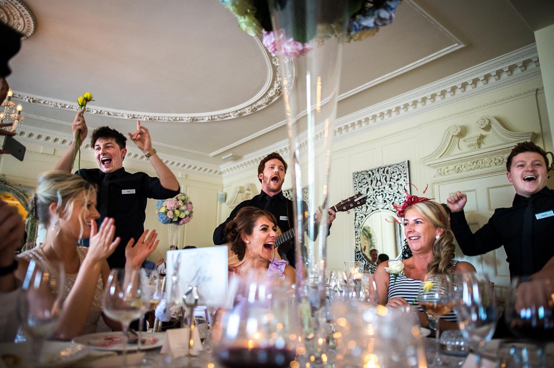 Eaves Hall Wedding Photography -140