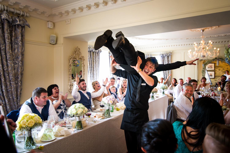 Eaves Hall Wedding Photography -141