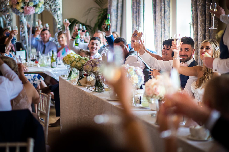 Eaves Hall Wedding Photography -143