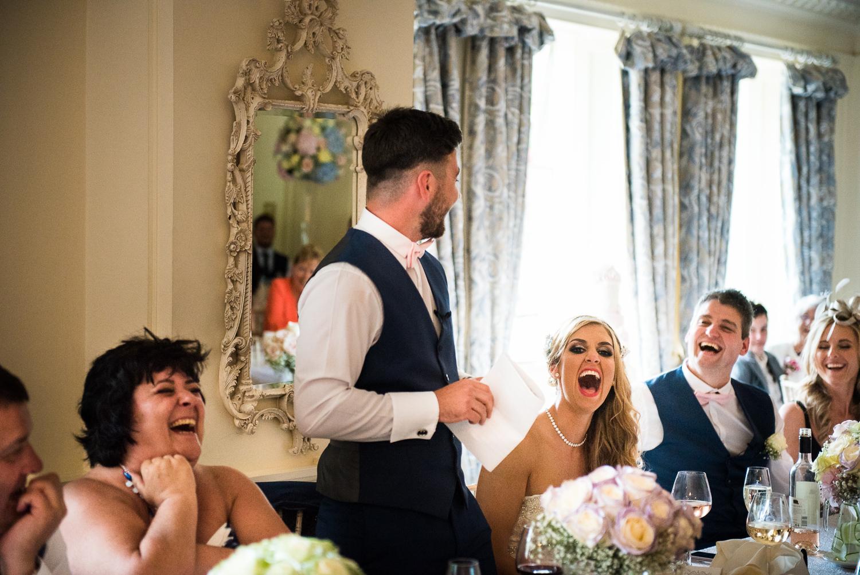 Eaves Hall Wedding Photography -144