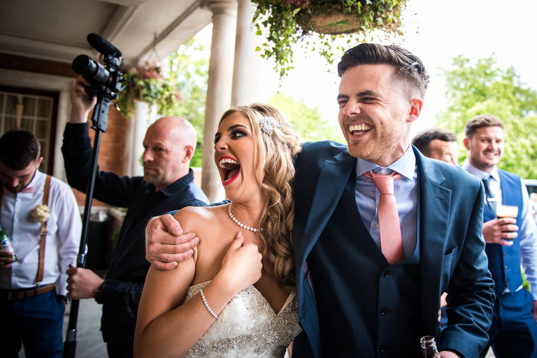 Eaves Hall Wedding Photography -153