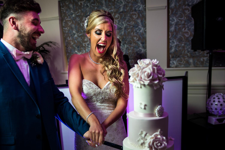 Eaves Hall Wedding Photography -158