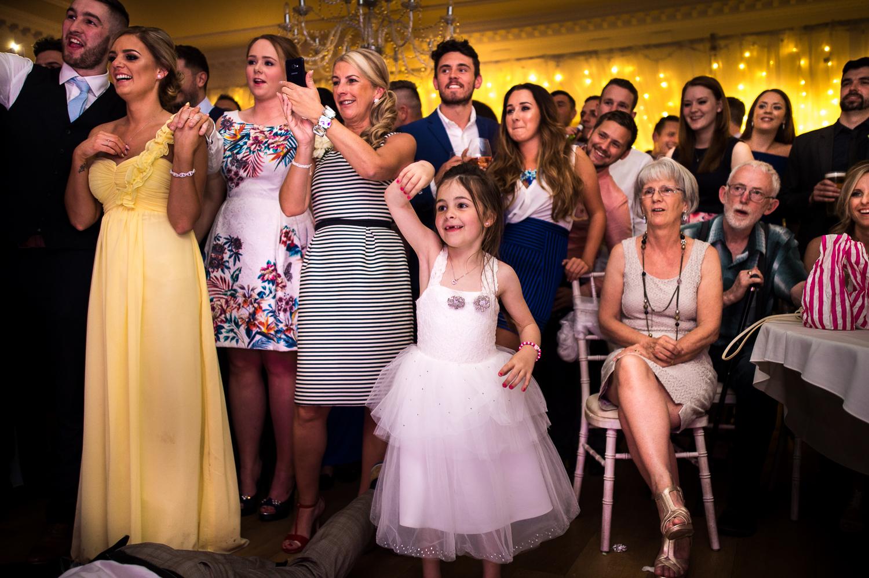 Eaves Hall Wedding Photography -163