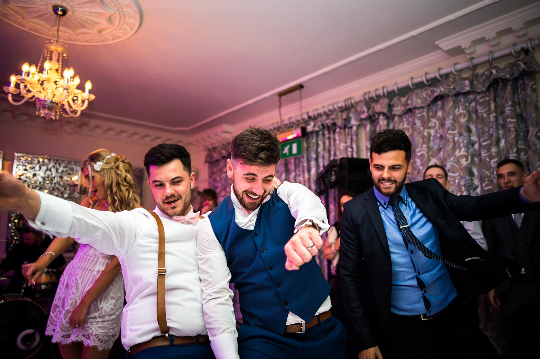 Eaves Hall Wedding Photography -167