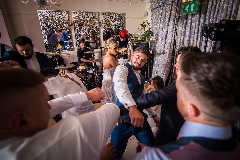 Eaves Hall Wedding Photography -169
