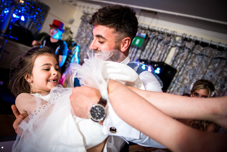 Eaves Hall Wedding Photography -170
