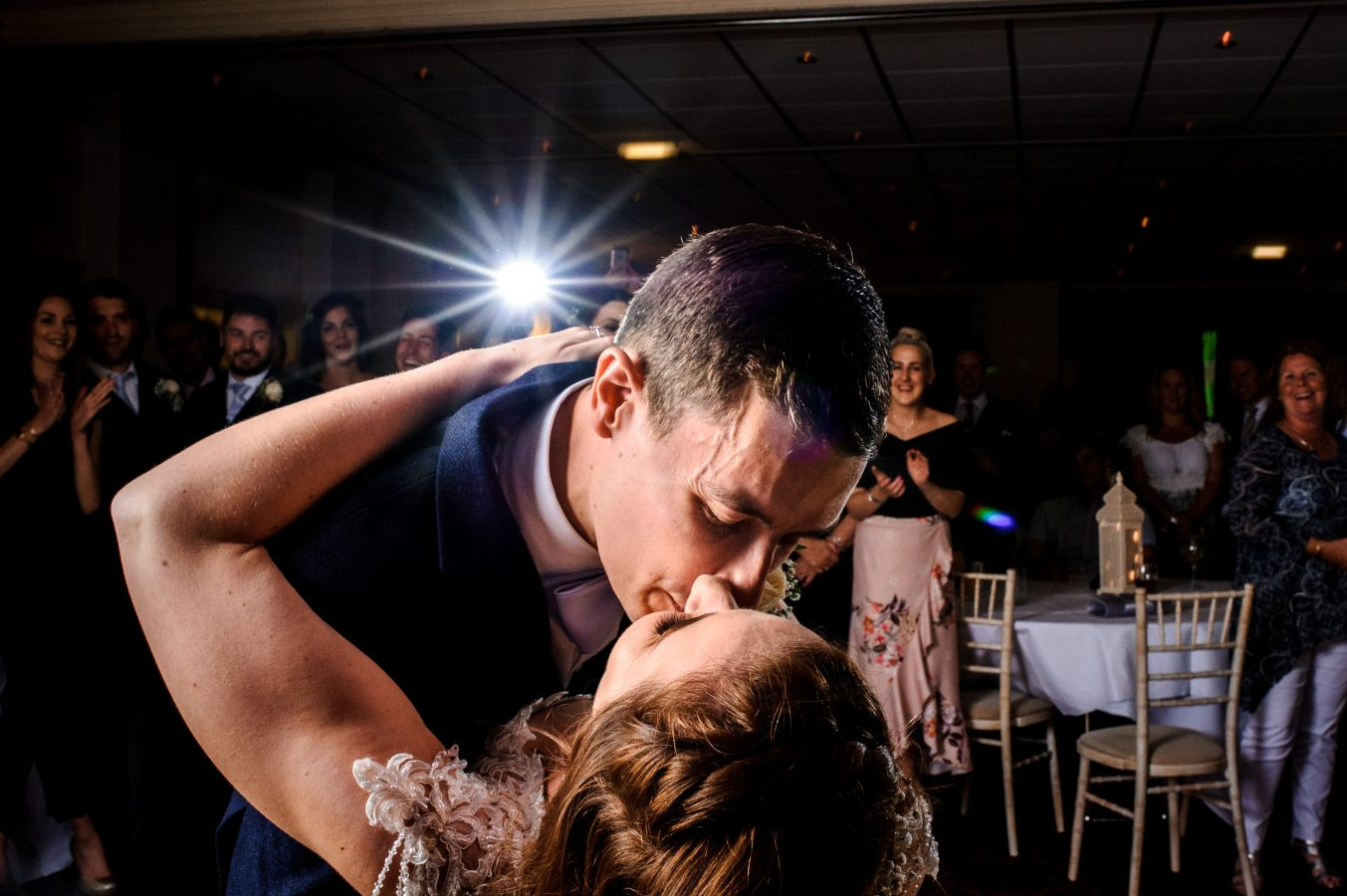 first-dance-kiss-dunkenhalgh-hotel