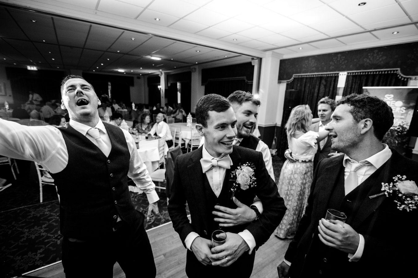 grooms-men-on-the-dance-floor-dunkenhalgh-hotel