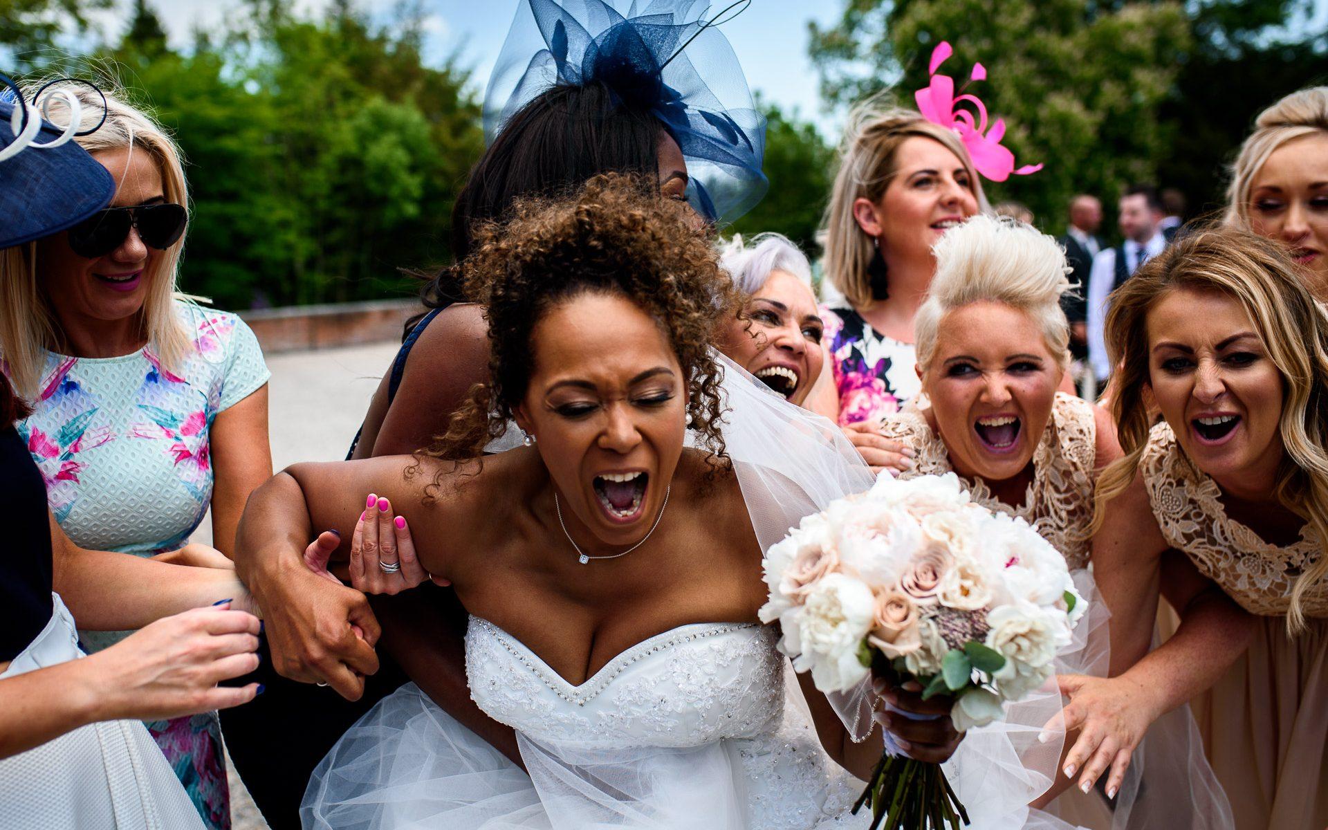 Eaves Hall Wedding Phototgraphy