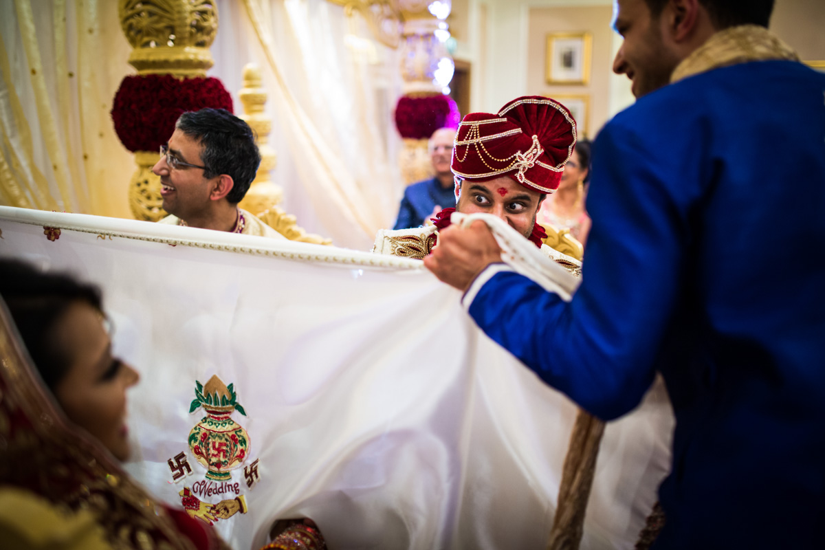Ameesha & Saagar's traditional Hindu Wedding